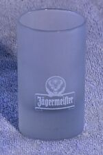 Shot Glass Original collectable Frosted Glass Shooters Jaegermeister    877