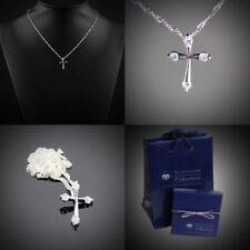 Modeschmuck-Halsketten Legierung Kreuz-Motiv