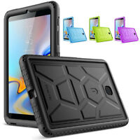 Poetic TurtleSkin Heavy Duty Protection Silicone Case For Galaxy Tab A 8.0 2018