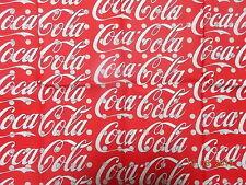 Coca Cola Fabric Ebay