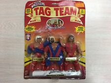Remco Fabulous Freebirds 3 Man Tag Team AWA Wrestling Vintage WWF WWE NEW 1985
