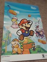 Super Smash Bros Brawl/Super Paper Mario 15.5''x11.5'' Double Sided Poster