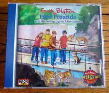 Fünf Freunde und die Aufregung im Raubtierhaus CD Enid Blyton Top Zustand