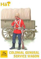 Hat 1/72 Colonial General Service Wagon Maqueta de Plástico en Kit 8287 Hti8287