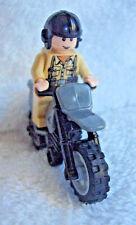 Lego Indiana Jones Motocicleta Chase 7620 soldado alemán & Motocicleta Minifigura