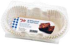 Tala 1lb Siliconado Impermeables Loaf Tin trazadores de líneas de Pack De 40