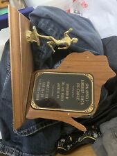 12th Annual Berghoff Ymca 10k Classic 1994 1st Place Womens 10k Metal Trophy