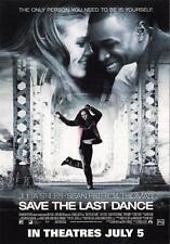 Save the Last Dance movie postcard 2001 Julia Stiles, Sean Patrick Thomas