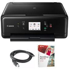 Canon PIXMA TS6020 Compact All-in-One Auto Duplex Printer w/ Paint Shop Bundle