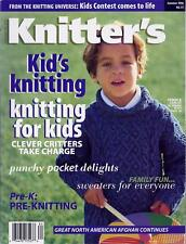Knitter's Magazine Back Issue 51 Summer 1998, Kids, Great North American Afghan
