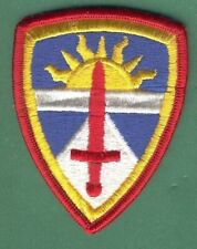 ARMY TEST EXPERIMENTATOR COMMAND PATCH