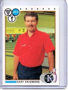 1990 PBA BOWLING CARD #49 GARY SKIDMORE