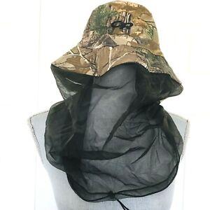 Outdoor Research Bug bucket Helios Camo Realtree Sz XL Mesh Face protection NEW