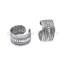 1prs 925 sterling silver oxidized ear cuff