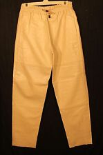 Napa Leather elastic drawstring pants adjustable length  many colors plus sizes
