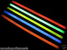 49X Glow Sticks RED 12 inches Light For Fishing / Camping / Party/ Adventure