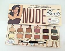 The Balm Nude Dude Volume 2  Nude Eye Shadow Palette 100% Authentic