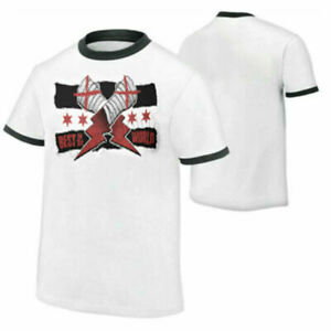 T-Shirt for CM Punk Best in The World White Ringer Return AEW Wrestling wwe 2021