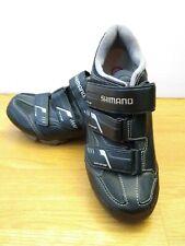 Shimano Cycling Shoes Womens Size 7.2 Off Set Mountain Spin Sh-Wm52L Black Eu 39