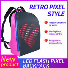Advertising Light Led Display Backpack Smart WIFI Version APP Control Backpack