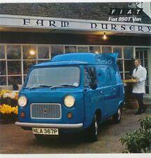 Fiat 850T 1976 original UK Sales Brochure