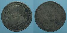 BOLIVIA 1/4 MELGAREJO 1865 MB