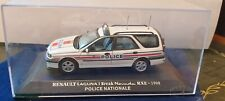 UH 1/43 RENAULT LAGUNA I BREAK NEVADA RXE 1998 POLICE NATIONALE NEUF EN BOITE
