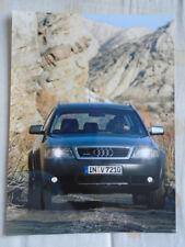 Audi Allroad quattro 2,5 TDi press photo Feb 2000