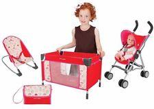 MacLaren Deluxe Activity Set (stroller+travel cot+baby rocker+diaper bag) - New