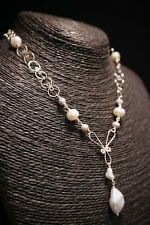 HANDMADE! Genuine Pearl Necklace 30011