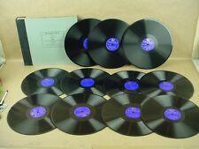 Columbia Masterworks set OP-10 Jules Massenet Manon volume 2 - 11 records