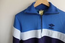 70s rare vintage Umbro Tracksuit jacket | S | blue Made in Bulgaria