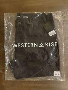 Western Rise Diversion Pant - 33 - Black - NWT