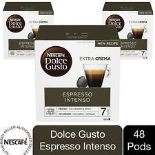 Nescafe Dolce Gusto Coffee Pods Caps 3 Box of 48 Espresso Intenso