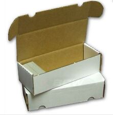550 Count Cardboard Card Storage Box - Holds 490 Standard / 800 Gaming Cards