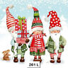 (261) TWO Individual Paper Luncheon Decoupage Napkins - GNOMES CHRISTMAS