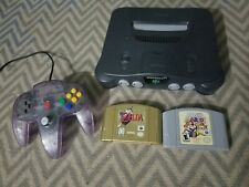 N64 Console Complete with Ocarina Of Time Collectors Edition and Paper Mario