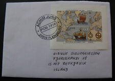 Iceland # Block 14 Europa on cover.1992.