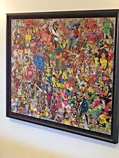 X-Men - Uncanny X-Men - Mixed Media Comic Art Stan Lee Claremont Romita Jr. Lee