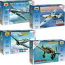 ZVEZDA Model Kits Battle Planes WWII Scale 1/72