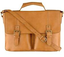 New Hidesign Charles Mens Leather Laptop Notebook iPad Tablet Case, Briefcase