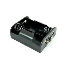 "2xC Battery Holder with 9V-Style Snap Connectors For 2 ""C"" Cell Velleman BH221B"