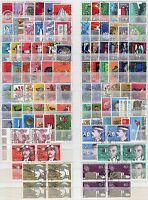 Svizzera - Lotto di 108 francobolli - Usati
