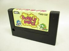 MSX BUBBLE BOBBLE MSX2 Cartridge only Ref/1520 Japan Video Game msx