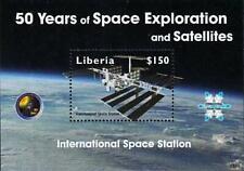 LIBERIA 2008 International SPACE STATION S/S MNH ** CV$8.00