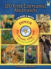 120 Great Expressionist Masterworks CD-ROM and Book (Paperback or Softback)