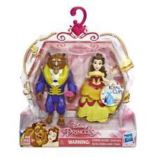"Disney Princess Royal Clips Fashion 3.25"" Dolls - Belle and Beast"