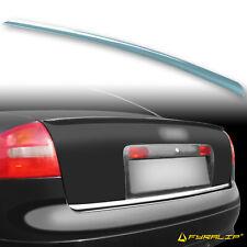 Fyralip Y22 Painted LX6V Green Trunk Lip Spoiler For Audi A6 C5 Sedan 97-04
