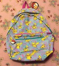 Brand New w/ Tags Pokemon Pikachu Backpack / FAB GAME FREAK / Nintendo Let's Go