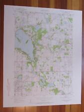 White Bear Lake East Minnesota 1958 Original Vintage USGS Topo Map
